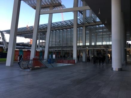 Entrance To London Bridge Train Station