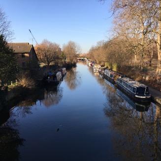 Regent's Canal outside Victoria Park